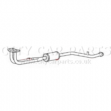 SUZUKI SJ410 PETROL 1.0 ATV/SUV / VAN MODELS 1982 TO 91 EXHAUST FRONT DOWN PIPE